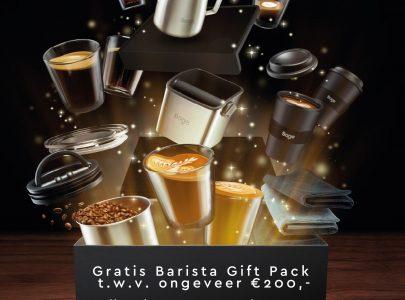 Gratis Sage Barista Pack t.w.v € 200,-